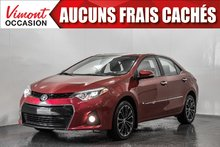 2015 Toyota Corolla 2015+S+TOIT+MAGS17+CAMERA RECUL+BLUETOOTH