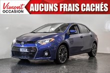Toyota Corolla 2015+S+TOIT+CAMERA RECUL+SIEGES CHAUFFANTS+MAGS 2015