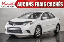 Toyota Corolla 2015+LE+CAMERA RECUL+SIEGES CHAUFFANTS+BLUETOOTH 2015