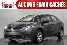 2016 Toyota Corolla 2016 LE+A/C+CAMERA+BLUETOOTH