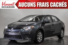 2016 Toyota Corolla 2016 LE+CAMERA+BLUETOOTH