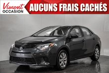2016 Toyota Corolla LE+CAMERA RECUL+SIEGES CHAUFFANTS+BLUETOOTH
