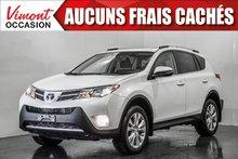 Toyota RAV4 2015+AWD+LIMITED+CUIR+TOIT+NAV+CAMERA RECUL 2015