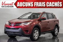2015 Toyota RAV4 2015+FWD+LE+CAMERA RECUL+SIEGES CHAUFFANTS+