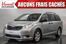 2015 Toyota Sienna 2015+CE+CAMERA RECUL+A/C+GR ELEC COMPLET+BLUETOOTH
