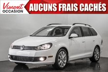 2014 Volkswagen Golf wagon 2014+TDI+CUIR+TOIT PANO+SIEGES CHAUFFANTS+