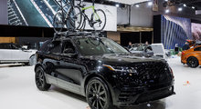 Le Range Rover Velar En Vedette Au Salon de l'auto de Montréal