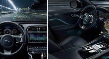 Jaguar et Land Rover développent un système d'affichage tête haute avancé