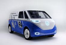 Volkswagen unveils I.D. Electric Buzz Cargo in Los Angeles