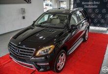 Mercedes-Benz M-Class 2015 ML 350 BlueTEC + PREMIUM + SPORT PACK + MAGS AMG