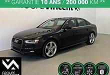Audi A4 SLINE TECHNIK QUATTRO ** GARANTIE 10 ANS ** 2015