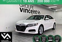Honda Accord LX **GARANTIE 10 ANS** 2018