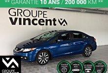 Honda Civic Touring ** GARANTIE 10 ANS ** 2015