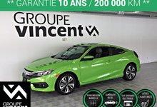 Honda Civic EX-T COUPÉ TURBO ** GARANTIE 10 ANS ** 2017