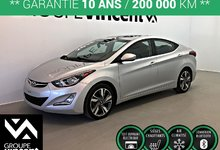 Hyundai Elantra GLS ** GARANTIE 10 ANS ** 2015