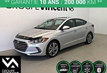 Hyundai Elantra GLS CUIR ** GARANTIE 10 ANS ** 2018