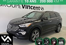 Hyundai Santa Fe XL LIMITED GPS AWD 7 PASSAGERS **GARANTIE 10 ANS** 2016