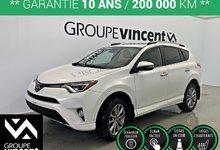 Toyota RAV4 LIMITED AWD CUIR-TOIT  **GARANTIE 10 ANS** 2017
