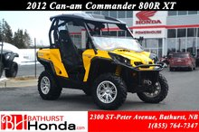 2012 Can-Am commander 800R - XT