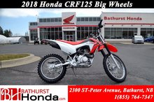 2018 Honda CRF125F Big Wheels