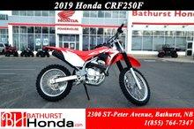 2019 Honda CRF250 F