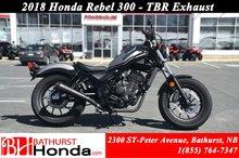 2018 Honda Rebel 300 - ABS
