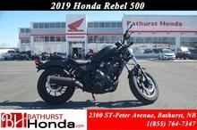 2019 Honda Rebel 500 - ABS
