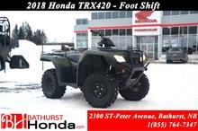 2018 Honda TRX420 RANCHER Rancher