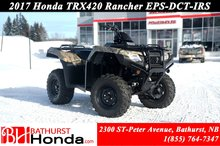 2017 Honda TRX420 Rancher - EPS - DCT - IRS