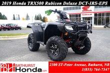 2019 Honda TRX500 Deluxe DCT