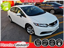 Honda Civic LX 2014