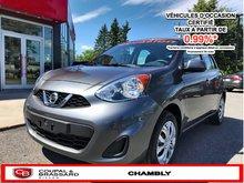 Nissan Micra SV*UN SEUL PROPRIO*JAMAIS ACCIDENTÉ 2016