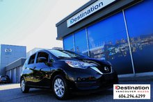2017 Nissan Versa Note SV -Roomy Hatch, Local, Non Smoker and Ready to go