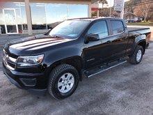 Chevrolet Colorado 4WD WT * TOILE, MARCHE PIEDS, CAMÉRA * 2016