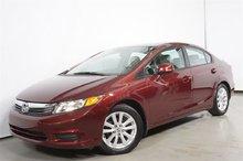 Honda Civic EX-L A/C MAG TOIT CUIR NAV **56$+tx/sem.** 2012