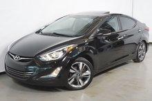 Hyundai Elantra LIMITED GPS TOIT CUIR SIEGE CHAUFFANT 2015