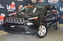 Jeep Cherokee Sport V6 4X4 GARANTIE PROLONGÉE 2015