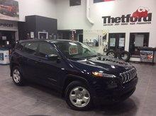 Jeep Cherokee SPORT/V6/4X4/*95$SEM.0$/BAS KILOMÉTRAGE 2016