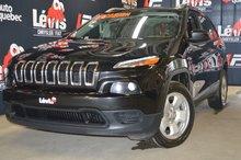 Jeep Cherokee Sport V6 SIÈGES CHAUFFANTS ATTACHE-REMORQUE 2016