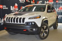 Jeep Cherokee Trailhawk V6 CUIR TOIT PANORAMIQUE 2016
