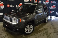 Jeep Renegade LIMITED TOIT PANORAMIQUE GPS 2018