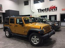 Jeep Wrangler Unlimited SPORT/4X4/AUTO/2 TOIT/CLIMATISEUR/*132$SEM.0$* 2014