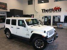 Jeep Wrangler Unlimited SAHARA 4X4/NAVI/TOUT ÉQUIPÉ/*159$SEM.TOUT INCLUS* 2018