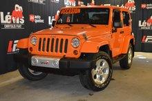 Jeep Wrangler Sahara 2 TOITS ATTACHE-REMORQUE 2013
