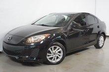 Mazda Mazda3 GX BLUETOOTH MAG VITRES TEINTES 2013