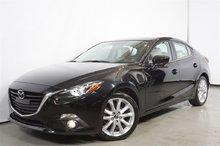 Mazda Mazda3 GT-SKY AUTO GPS CUIR TOIT A/C MAG**59$+tx/sem.** 2014