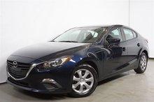 Mazda Mazda3 GX AUTO A/C BT ** 46$+tx/sem. ** 2015