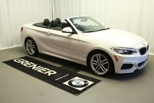 BMW 228i xDrive Convertible,Groupe Msport et premium essentiel 2016
