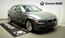 BMW 328i xDrive Groupe Luxury, Navigation, Xénon. à partir 0.9% 2015