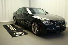 BMW 750i xDrive Garantie 2 ans km illimité gratuite+ligneM+0.9% 2014